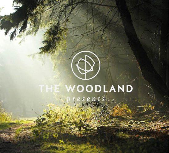 The Woodland Presents logo